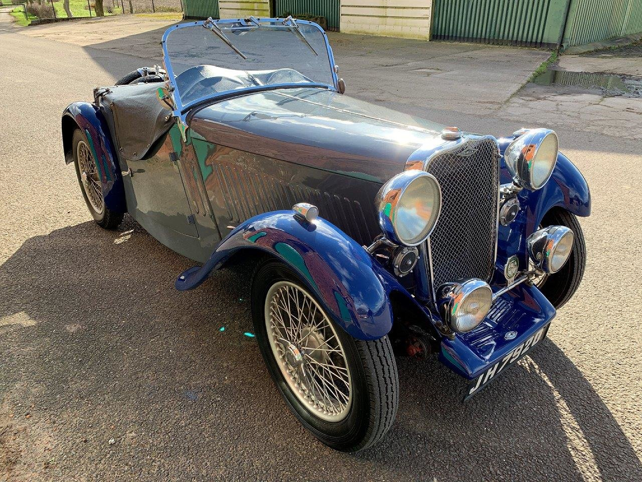 1934 SINGER LE MANS 972CC ROADSTER MANUAL  SOLD (picture 1 of 6)
