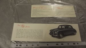 1946- 1948 SINGER BROCHURE AND PARTS CATALOGUE FOR SALE