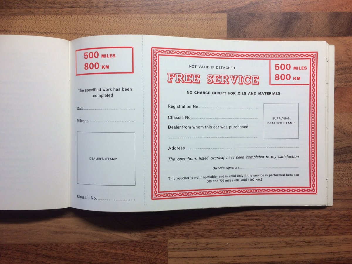 Singer Gazelle Owners Manual/Service record For Sale (picture 3 of 5)