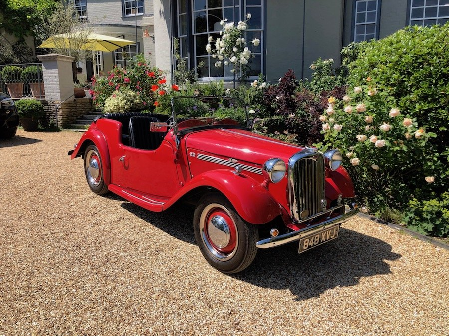 1953 Singer 4AD 1500 Roadster For Sale (picture 1 of 6)