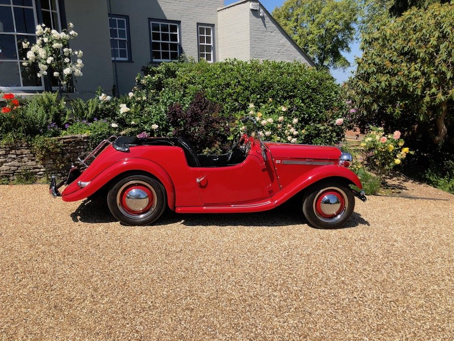1953 Singer 4AD 1500 Roadster For Sale (picture 2 of 6)