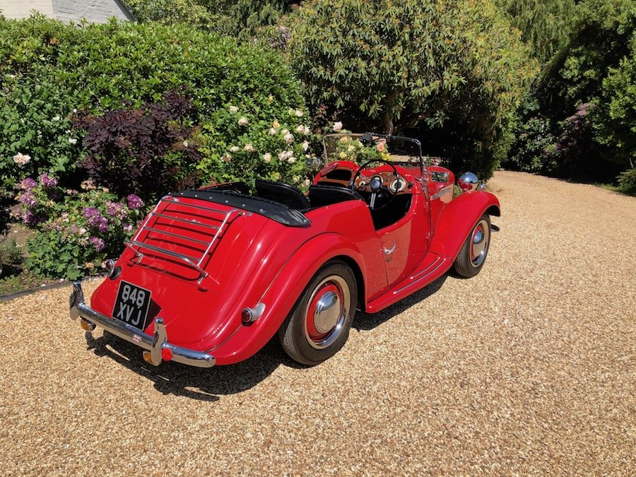 1953 Singer 4AD 1500 Roadster For Sale (picture 3 of 6)