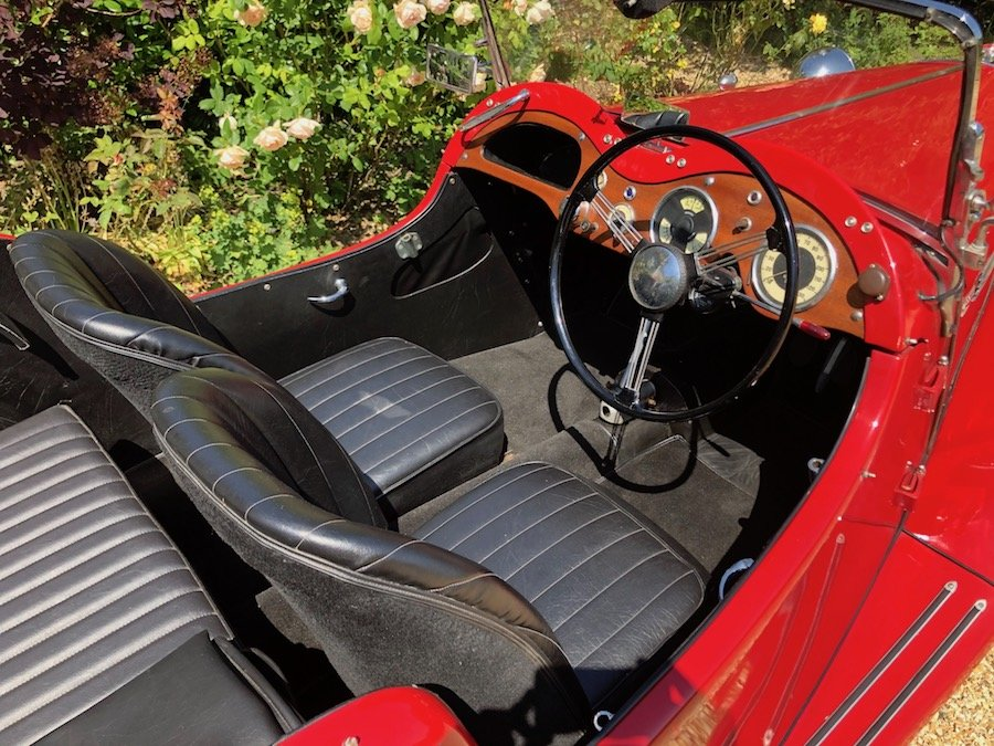 1953 Singer 4AD 1500 Roadster For Sale (picture 4 of 6)