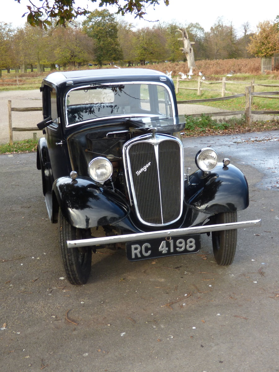 1936 Singer Bantam 2-door  - Two owners from new For Sale (picture 1 of 6)