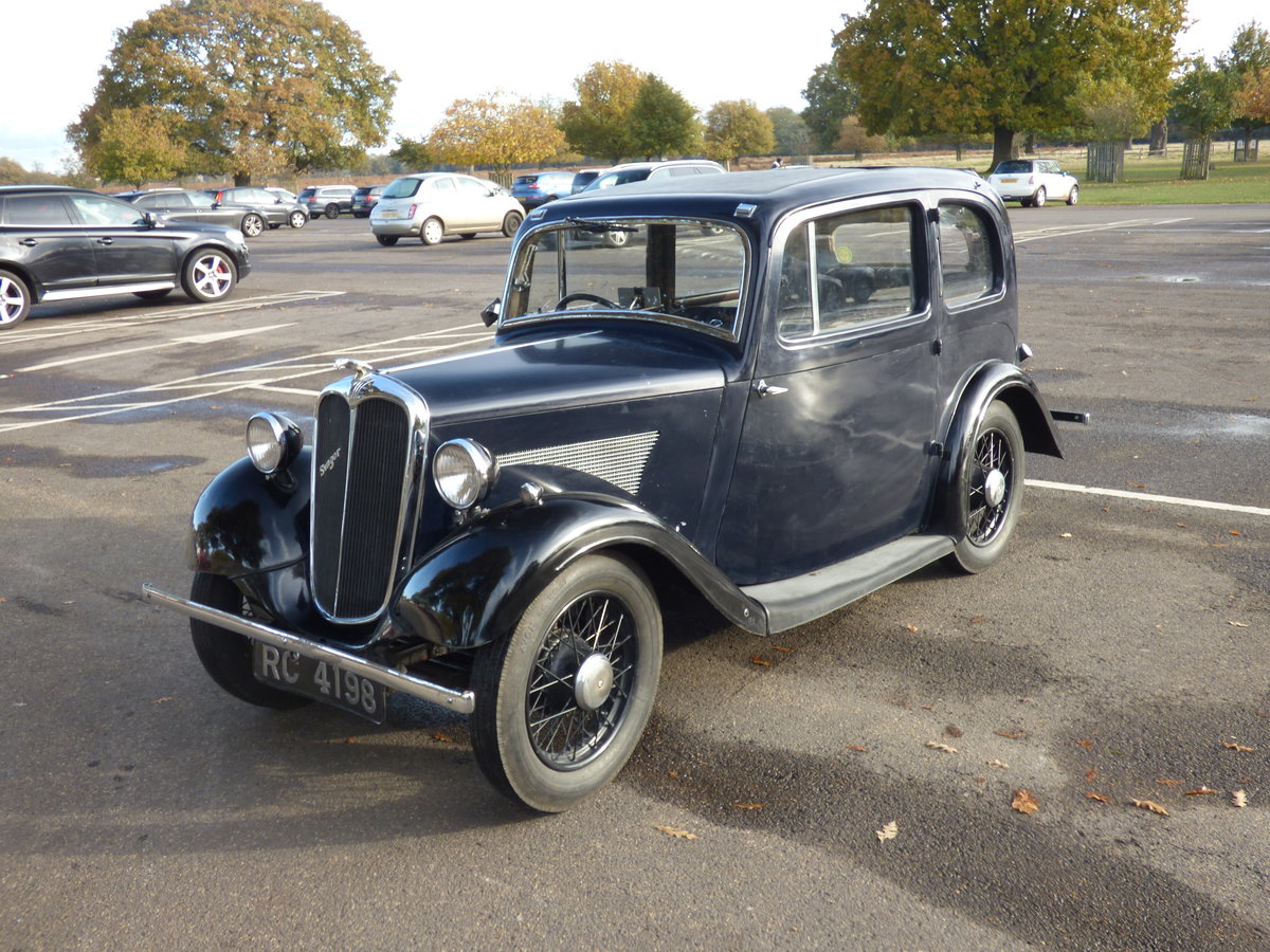1936 Singer Bantam 2-door  - Two owners from new For Sale (picture 2 of 6)