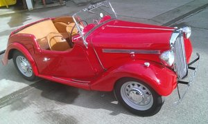 1949 Singer 4A Roadster