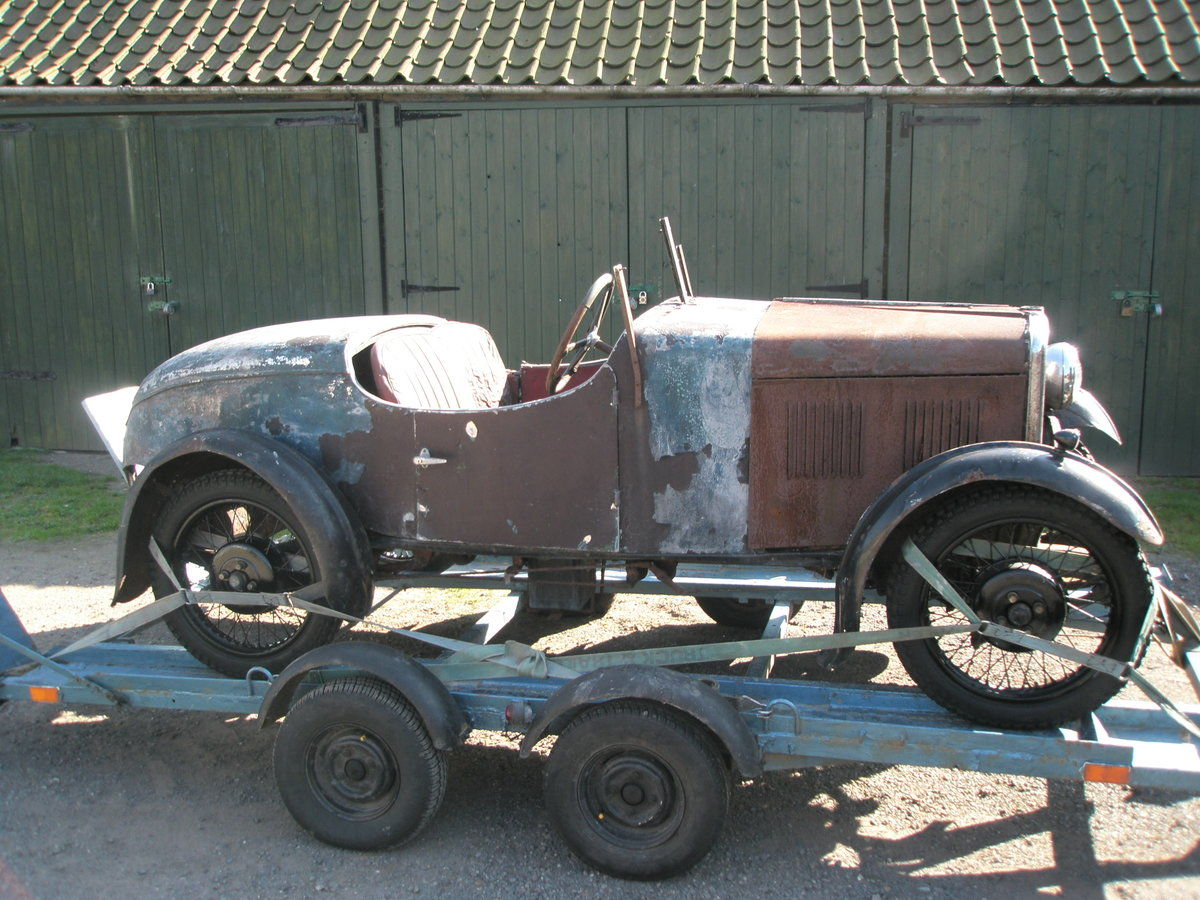 1931 Singer Jr boat tail Porlock and spare chassis/car SOLD (picture 1 of 3)