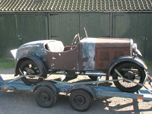 Singer Jr boat tail Porlock and spare chassis/car