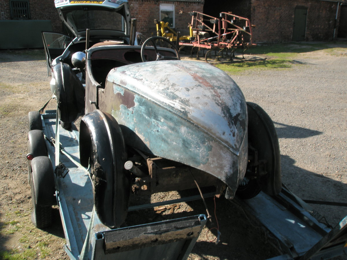 1931 Singer Jr boat tail Porlock and spare chassis/car SOLD (picture 2 of 3)