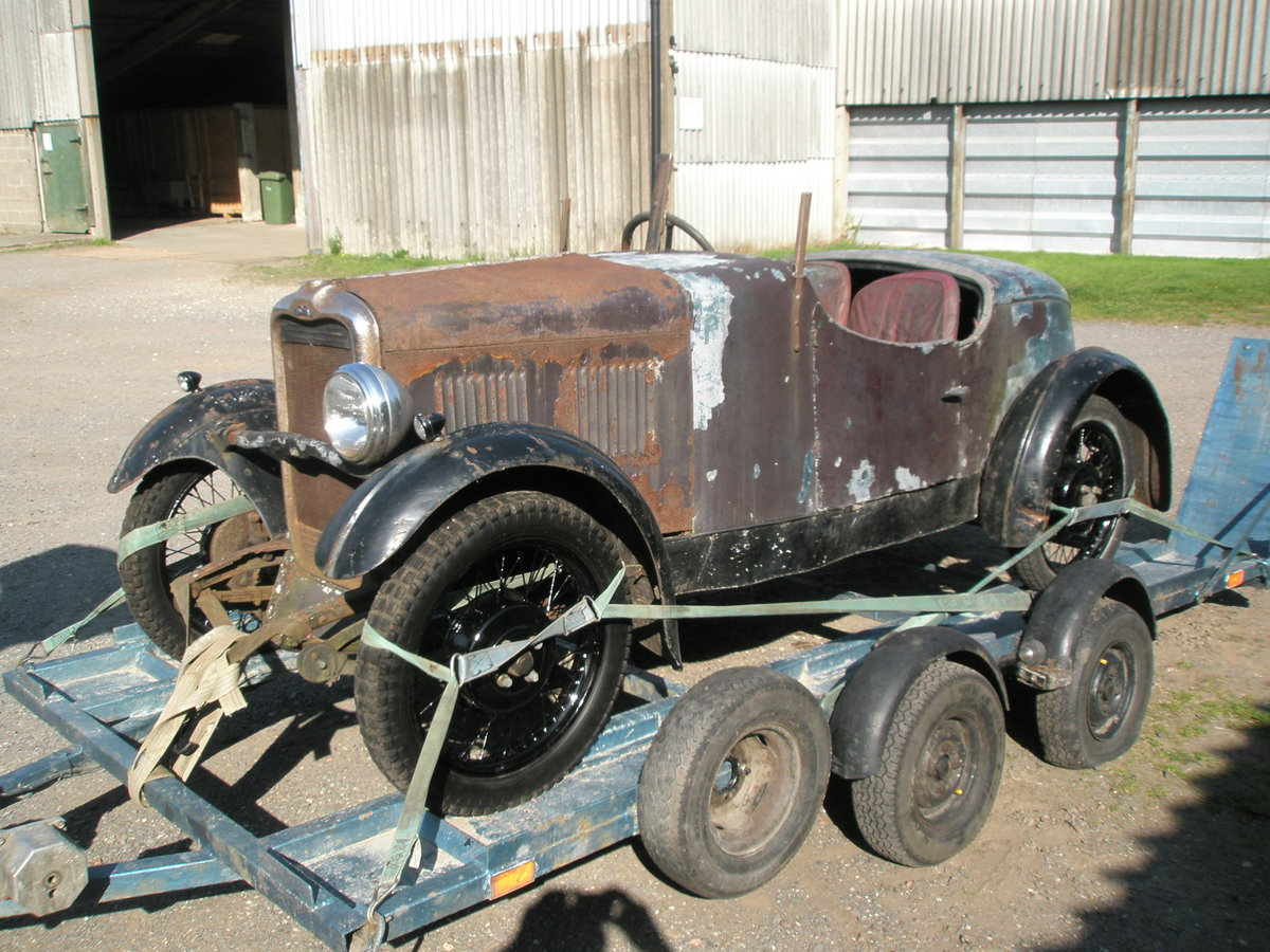 1931 Singer Jr boat tail Porlock and spare chassis/car SOLD (picture 3 of 3)