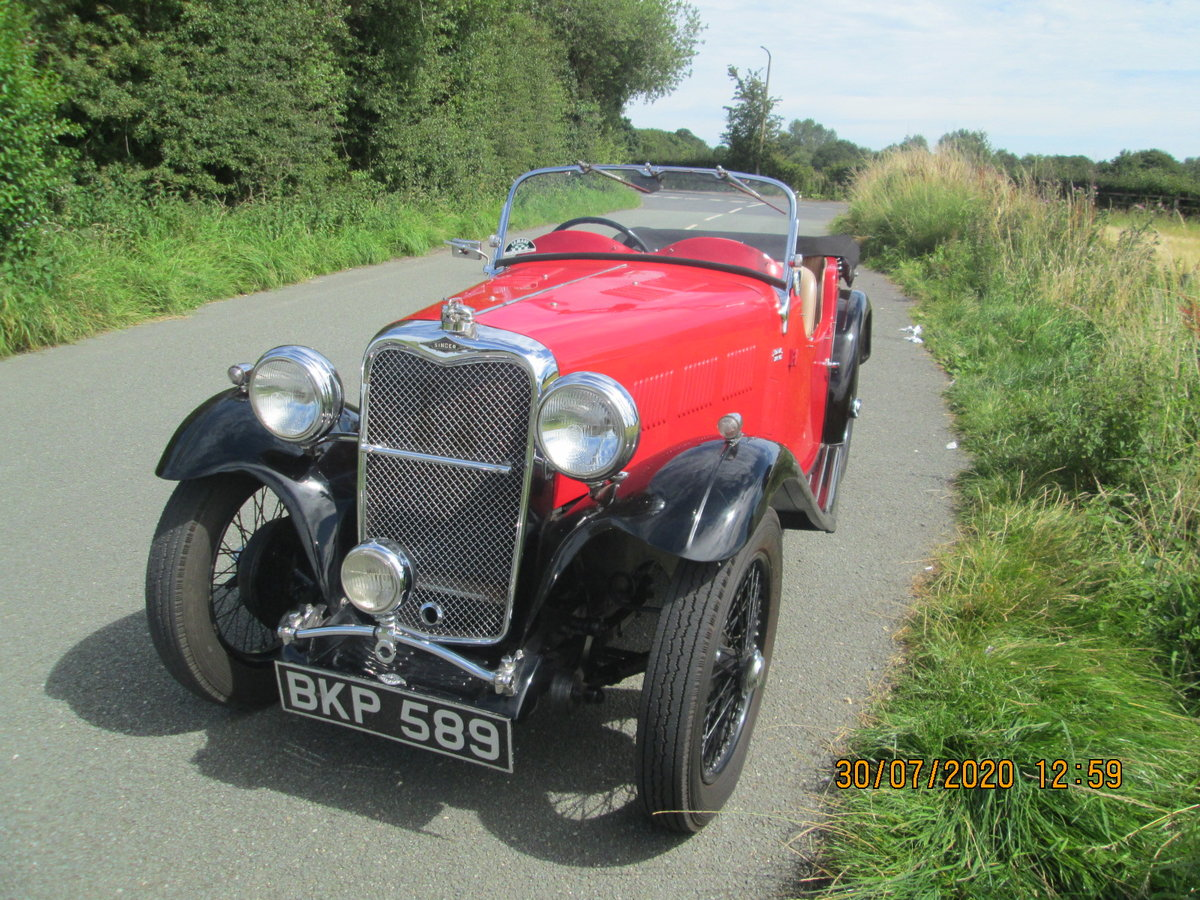 1935 Singer 9 Le Mans For Sale (picture 1 of 6)