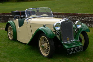 1934 Singer 9 Le Mans 2 Seater For Sale by Auction