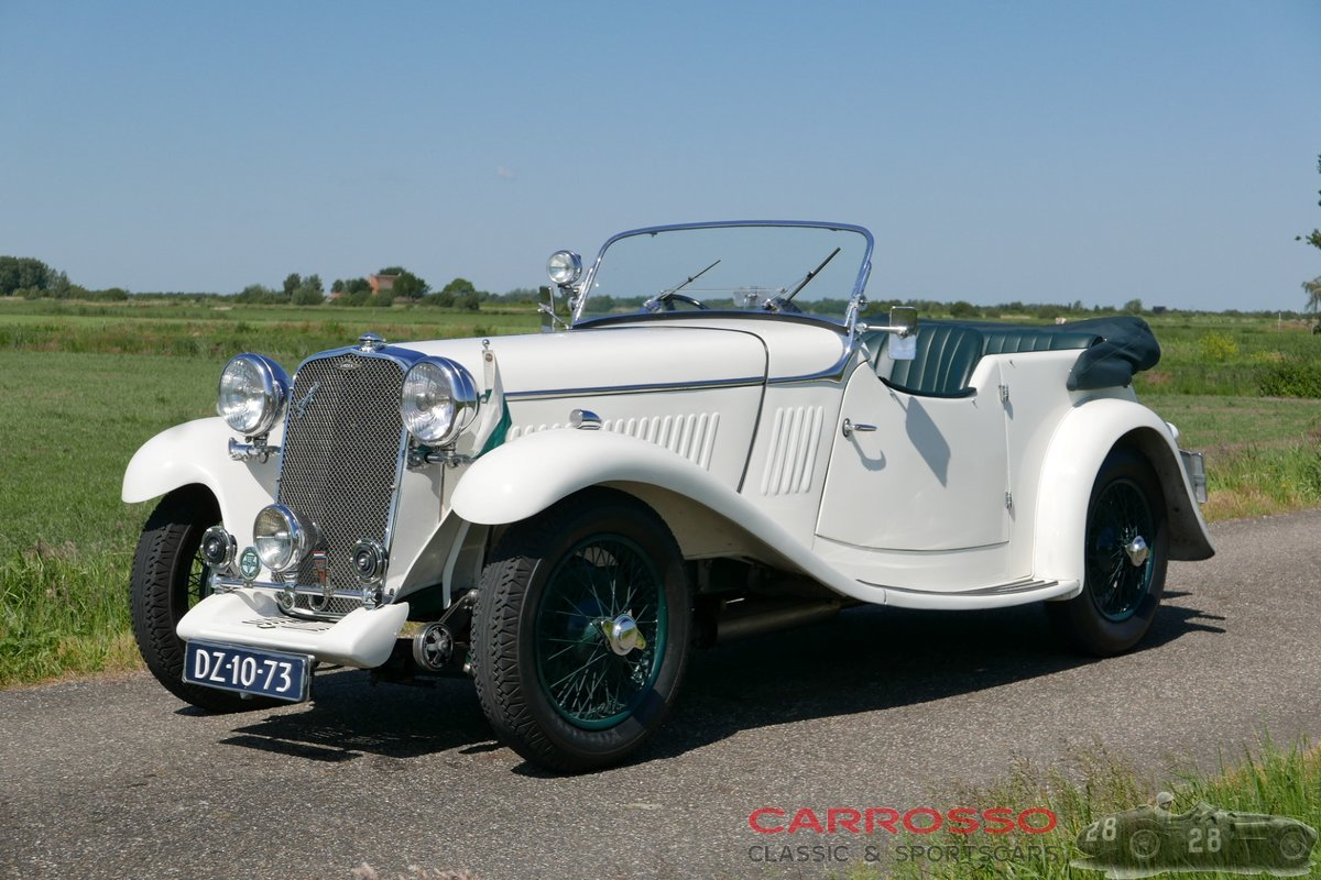 1933 Singer 1½ Litre Sports 4-seater in beautiful condition For Sale (picture 1 of 12)