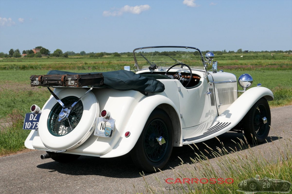 1933 Singer 1½ Litre Sports 4-seater in beautiful condition For Sale (picture 2 of 12)