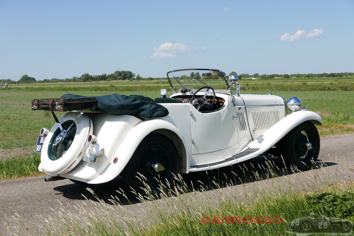 1933 Singer 1½ Litre Sports 4-seater in beautiful condition For Sale (picture 7 of 12)