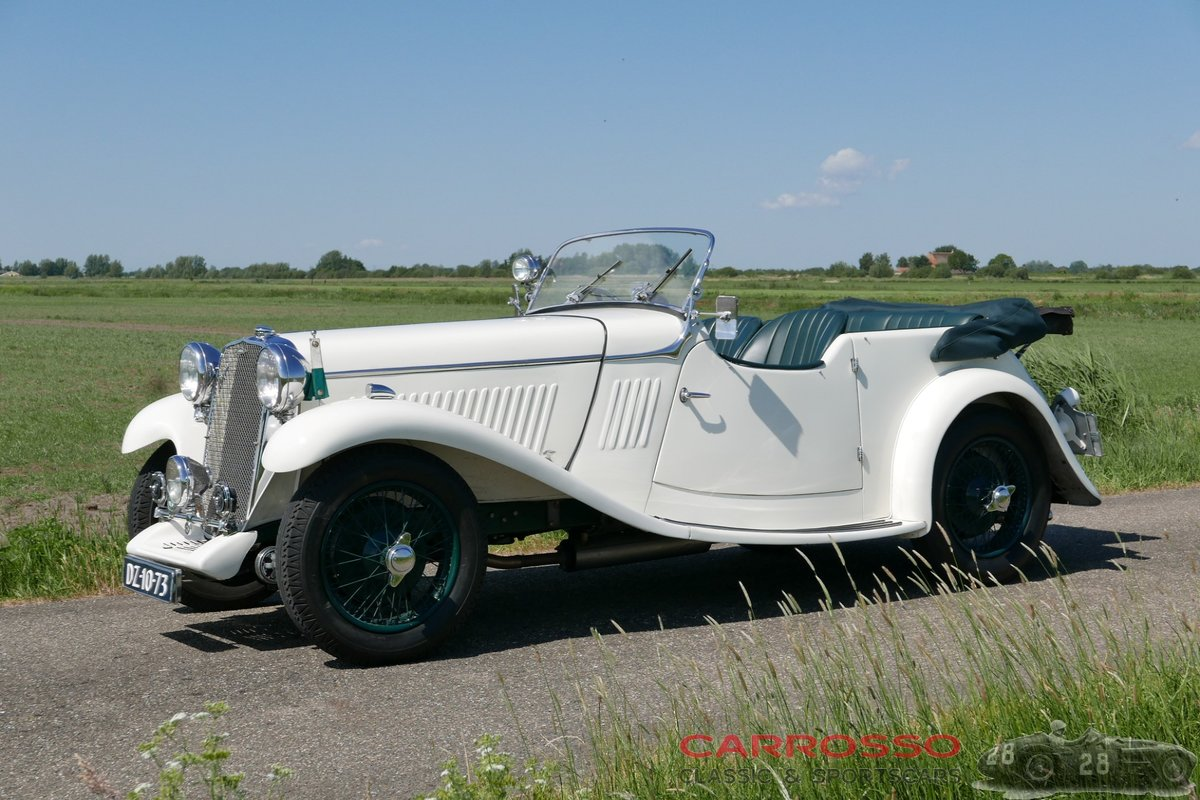 1933 Singer 1½ Litre Sports 4-seater in beautiful condition For Sale (picture 11 of 12)