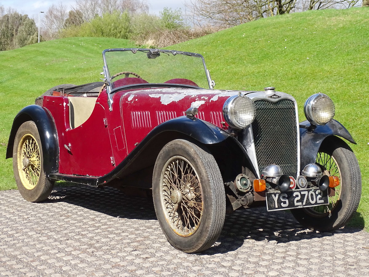 1935 Singer Nine Le Mans For Sale by Auction (picture 1 of 9)