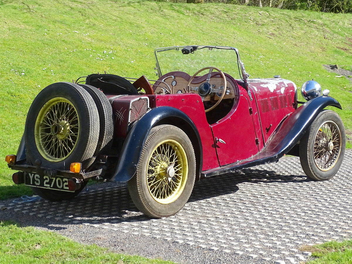 1935 Singer Nine Le Mans For Sale by Auction (picture 2 of 9)
