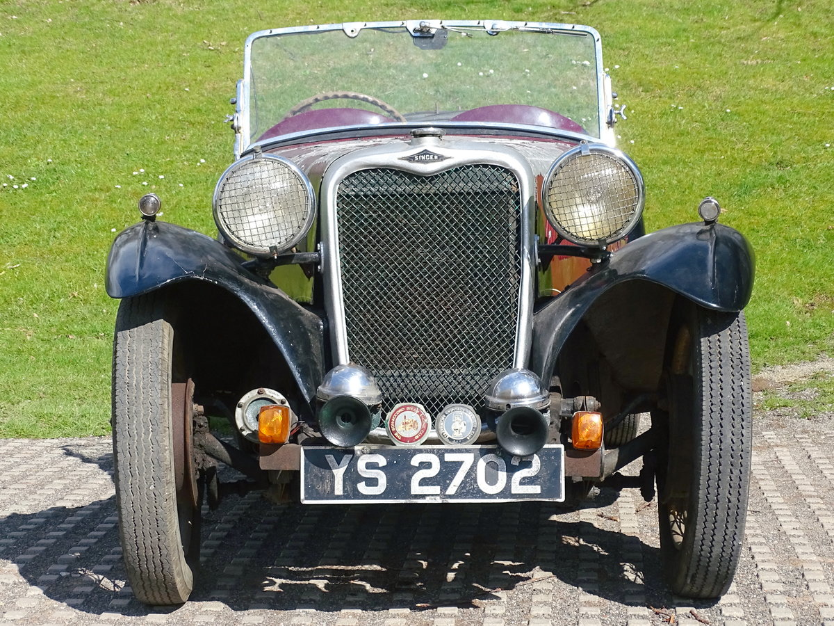 1935 Singer Nine Le Mans For Sale by Auction (picture 3 of 9)