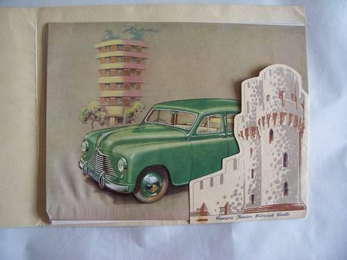 1951 SINGER MOTORS  S.M. 1500 SALES BROCHURE For Sale (picture 2 of 6)