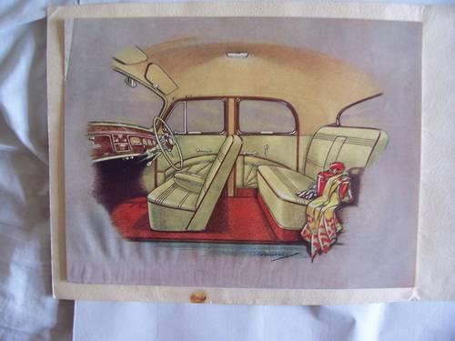 1951 SINGER MOTORS  S.M. 1500 SALES BROCHURE For Sale (picture 4 of 6)