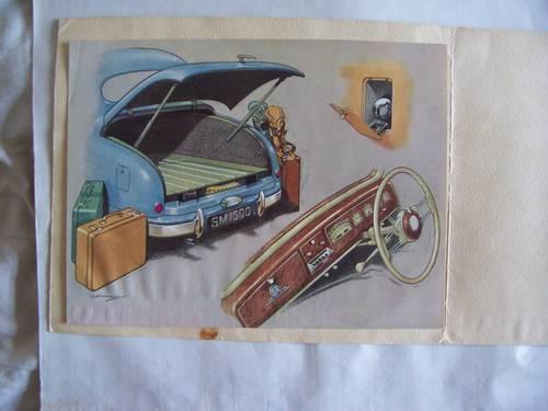 1951 SINGER MOTORS  S.M. 1500 SALES BROCHURE For Sale (picture 5 of 6)