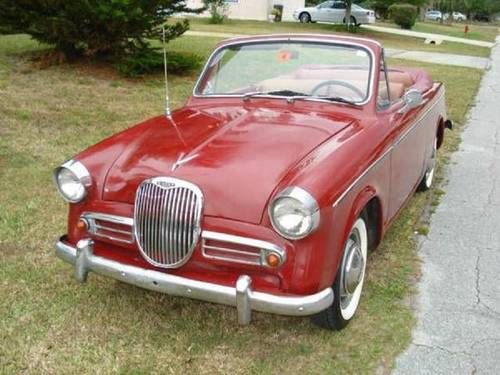 1959 Singer Convertible For Sale (picture 1 of 6)