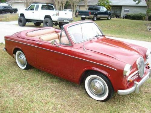 1959 Singer Convertible For Sale (picture 2 of 6)