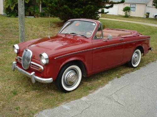 1959 Singer Convertible For Sale (picture 3 of 6)