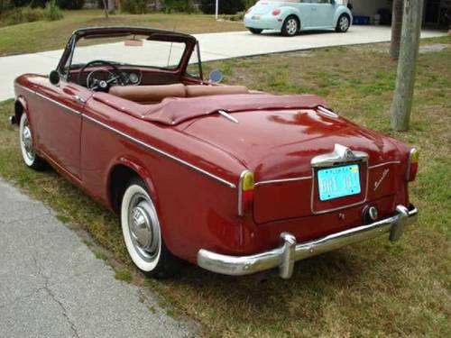1959 Singer Convertible For Sale (picture 4 of 6)