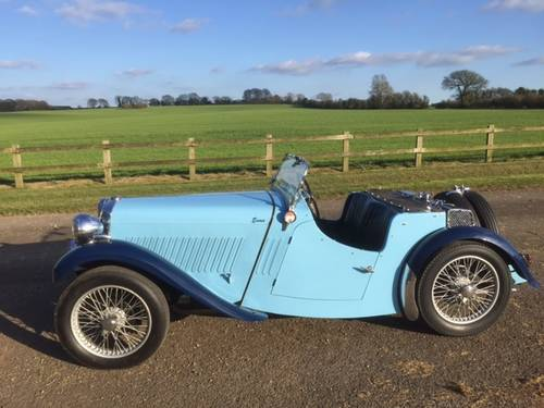 1935 Singer Nine Le Mans for sale in Hampshire... SOLD (picture 1 of 6)