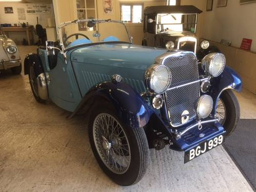 1935 Singer Nine Le Mans for sale in Hampshire... SOLD (picture 4 of 6)