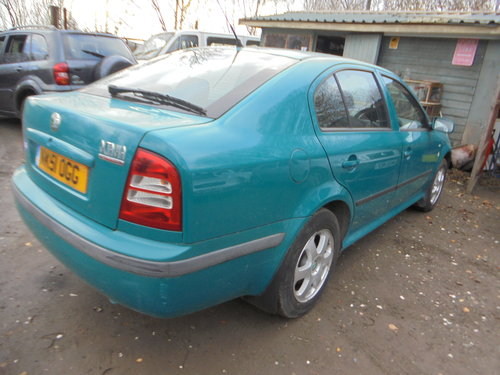 2001 51 PLATE DIESEL AUTOMATIC  1900cc SKODA OCYAVIA SALOON 200K For Sale (picture 3 of 6)