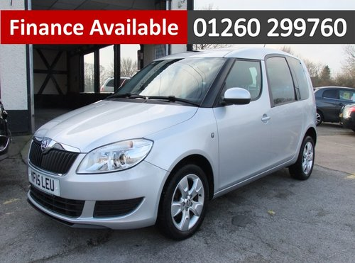 2015 SKODA ROOMSTER 1.2 SE TSI 5DR SOLD (picture 1 of 6)