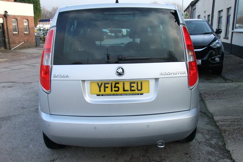 2015 SKODA ROOMSTER 1.2 SE TSI 5DR SOLD (picture 5 of 6)