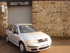 2005 05 SKODA FABIA 1.2 CLASSIC 5DR ESTATE 66481 MILES. For Sale