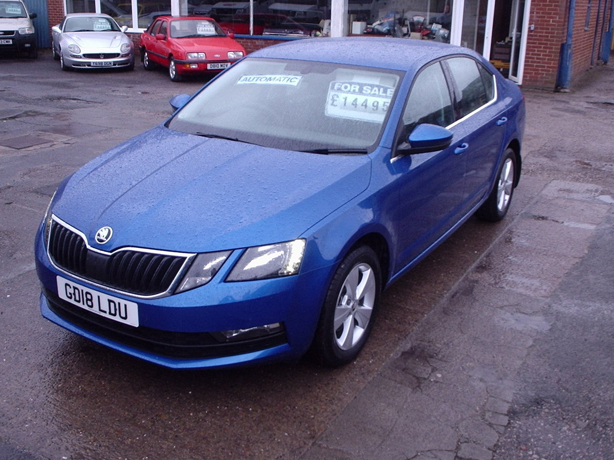 2018 Automatic Skoda Octavia For Sale (picture 1 of 6)