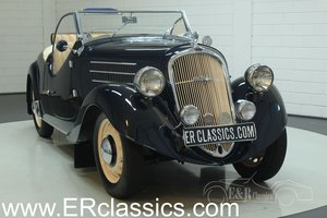 Skoda Popular II 420 Roadster 1937 1 of 50 For Sale