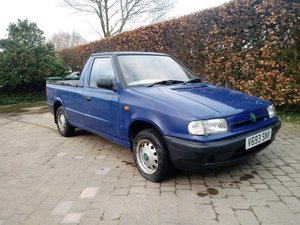 2000 Skoda Pick Up, like VW Caddy, good condition, MOT For Sale
