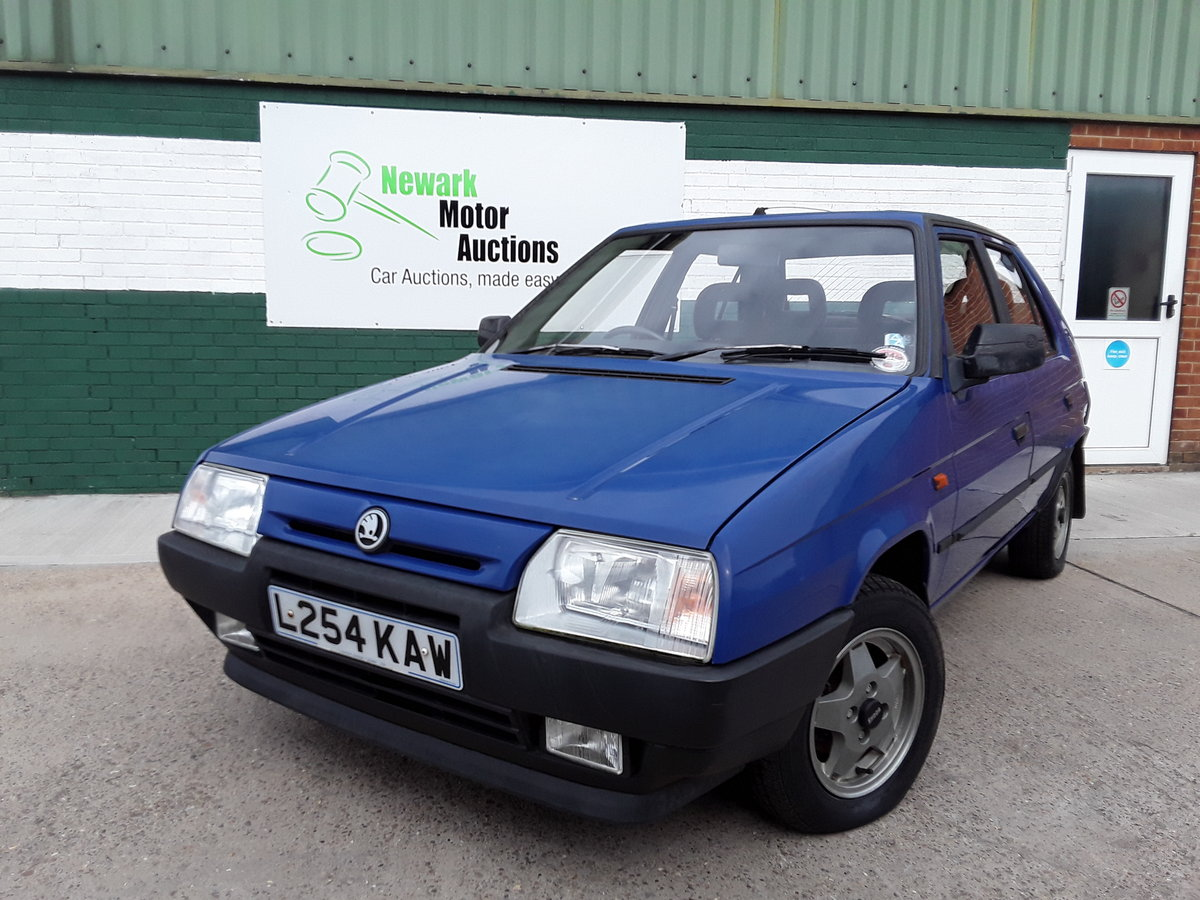 1994 Super Low Mileage Skoda For Sale By Auction Car And Classic