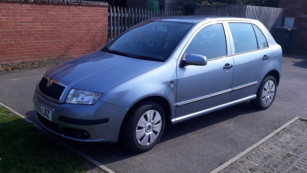 Skoda Fabia 1.2 12v HTP 2005 Petrol Manual 48k Miles 1 Owner SOLD (picture 4 of 6)