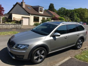 2015 Skoda Octavia Scout 4x4 one owner FDSH For Sale