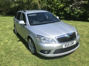 2011 SKODA OCTAVIA VRS ESTATE AUTOMATIC JUST 33000 MILES FROM NEW