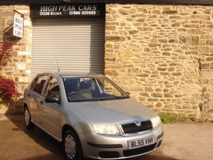 2006 55 SKODA FABIA 1.2 CLASSIC 5DR 52306 MILES ONE OWNER. For Sale