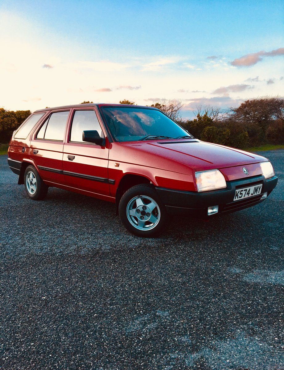 1993 Skoda Favorit Estate Amazingly Low Miles For Sale (picture 1 of 6)