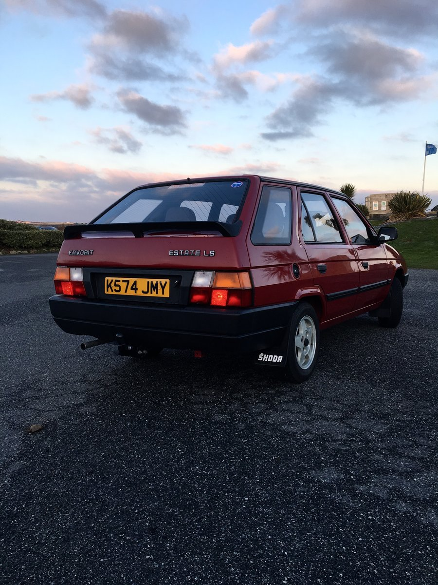 1993 Skoda Favorit Estate Amazingly Low Miles For Sale (picture 2 of 6)