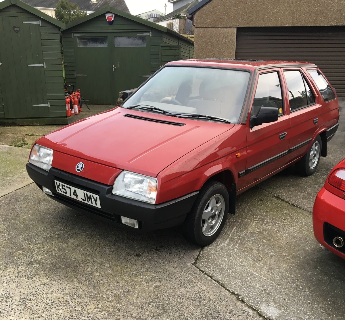 1993 Skoda Favorit Estate Amazingly Low Miles For Sale (picture 3 of 6)