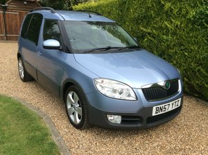 2007 Skoda Roomster Scout Tdi - Just 47,900 miles,