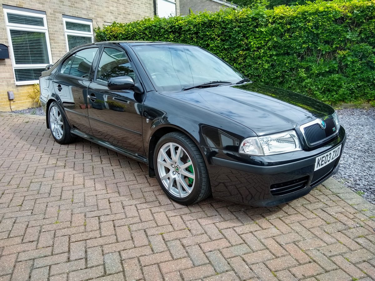2003 Skoda Octavia vRS MK1 For Sale (picture 1 of 6)