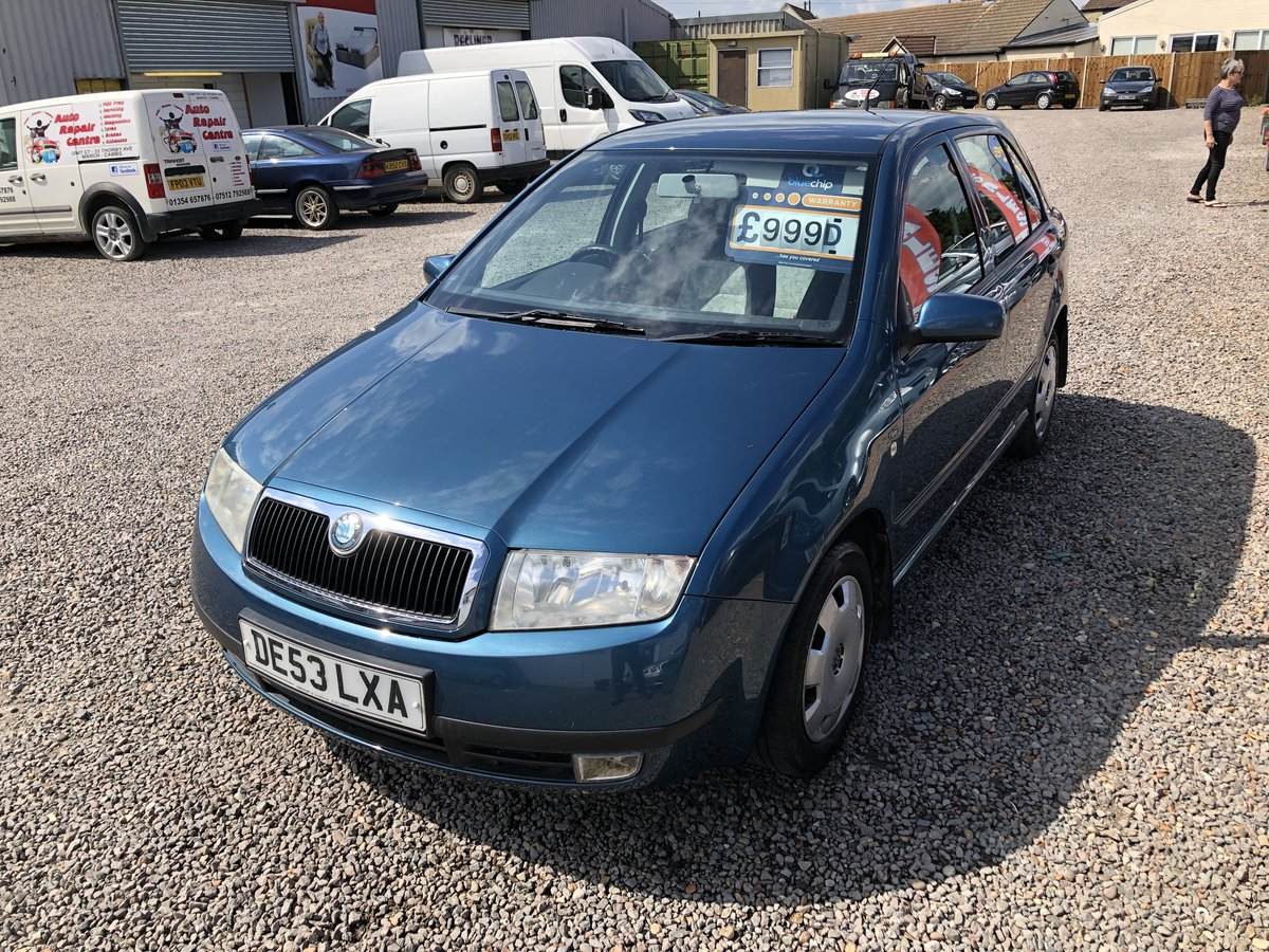 2003 SKODA Fabia 1.2 Comfort 5dr For Sale (picture 1 of 6)
